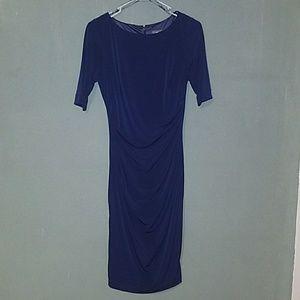 Vince Camuto Navy Blue Dress